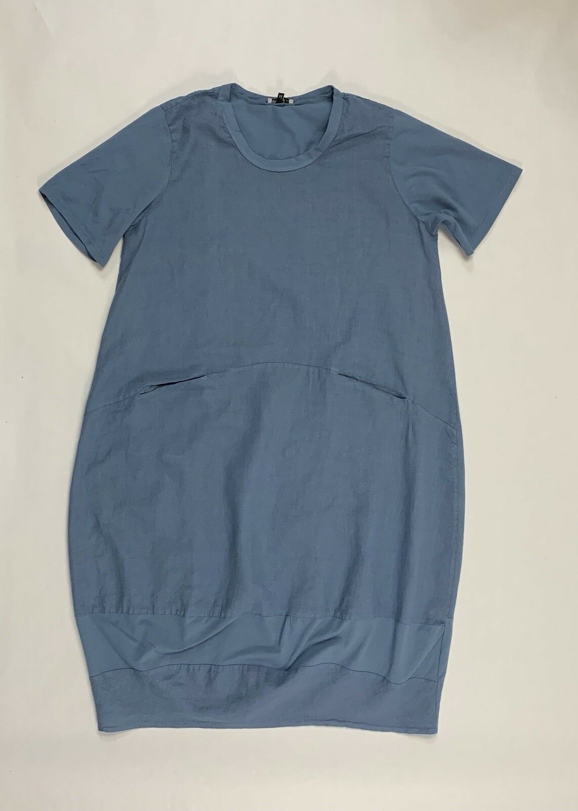 Lagenlook Linen Dress by Colour Lin,Euro Size 54 Made in  (Fits like 18-20)