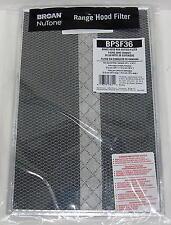 """BPSF36 Broan Allure Range Vent Hood Filter fits Nutone 99010309 36"""""""