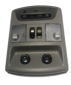 07 08 Nissan Quest Overhead Console Sunroof Slide Door Switch 96980zf95a Ebay