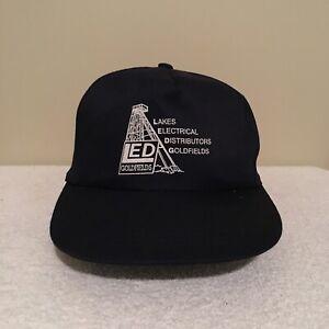 LED-Goldfields-Perth-Australia-Vintage-90-039-s-Adult-Mens-Snapback-Hat-Cap