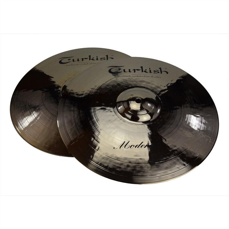 TURKISH CYMBALS cymbale Moderate 14  HiHat Hi-Hat
