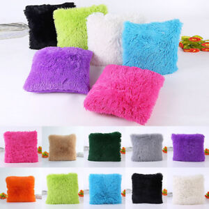 18-034-Soft-Fur-Plush-Square-Throw-Pillow-Cases-Home-Decor-Sofa-Waist-Cushion-Cover