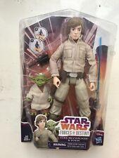 """Luke /& Yoda 11/"""" Figure set Star Wars Forces of Destiny Adventure Friends"""