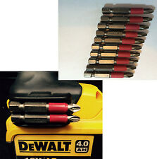 Dewalt Magnetic Bit Holder + Screw + 10 x pz2 50mm bits drills Impact Drivers