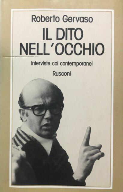 IL DITO NELL'OCCHIO R. GERVASO I ED. 1977 O611
