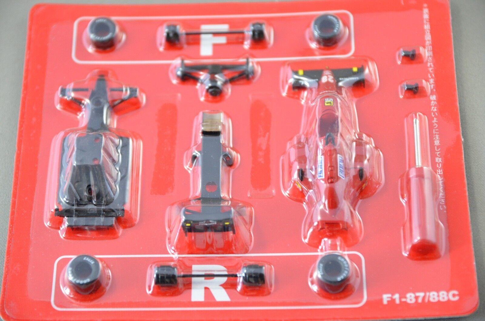 1 64 Kyosho Ferrari F1 87 88C nr.28 G.Berger 1988 tärningskast modelllllerler bil