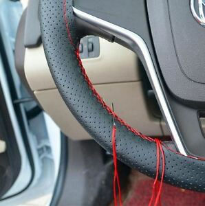 Toyota-Hilux-amp-Fortuner-Bicast-Leather-Steering-Wheel-Cover-NEW