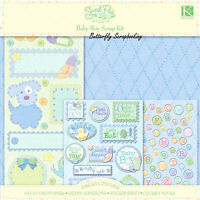 Baby Boy Sweet Pea Collection 12x12 Scrapbooking Kit K&company