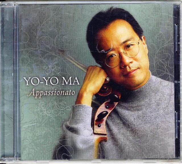 Yo-Yo Ma CD Appassionato Nuovo Sigillato 0886970444323