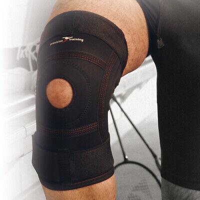 Support Sport Injury Black PRECISION TRAINING Knee Free Neoprene Support