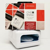 Cnd Shellac Light Official Uv Lamp Use W/ Cnd Shellac + Chic Trial Pack Kit Set
