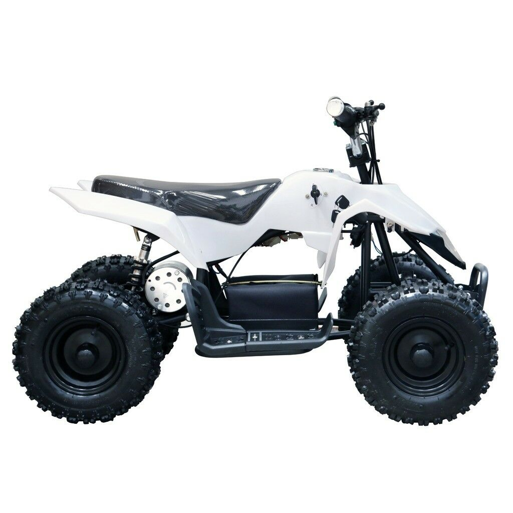 New White Kids Electric ATV 4 Wheeler 24V 350W  Mini Quad Motor Bike 6+ Year-old  quality first consumers first