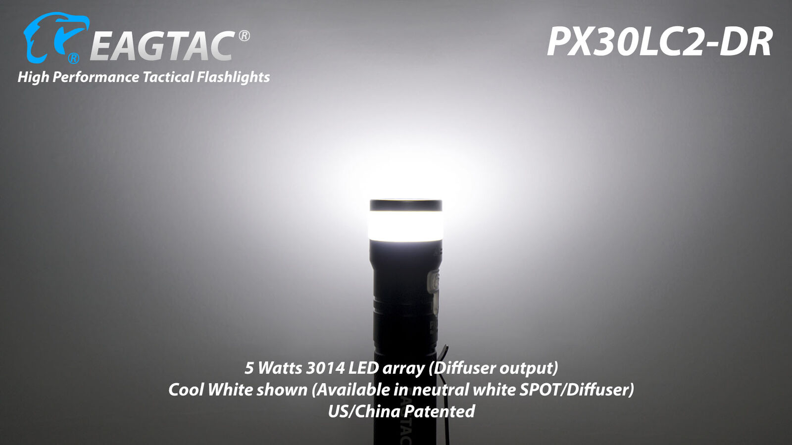 Torcia Eagletac Eagtac PX30LC2-DR NW 1160 lumens Ricaricabile Neutral