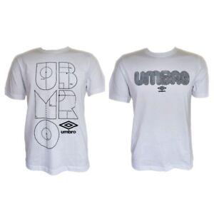 Hommes-039-s-neuf-UMBRO-T-shirt-a-encolure-ras-du-Cou-Tailles-S-M-L-XL