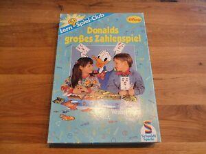 Disney-donalds-gran-partido-de-numeros-contamos-hasta-10-vintage-retro-Schmidt-juegos