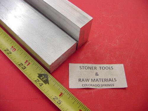 "2 Pieces 5//8/"" X 1-1//2/"" ALUMINUM 6061 FLAT BAR 24/"" long T6511 .625/"" Mill Stock"