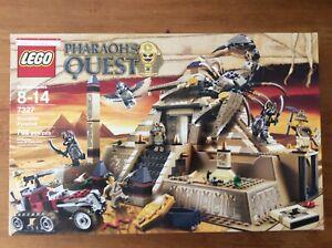 Lego-Pharaohs-Quest-Scorpion-Pyramid-7327-used