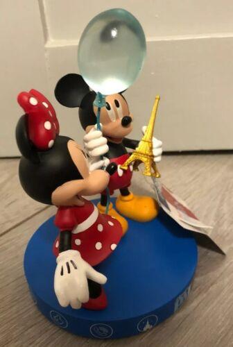 FIGURINE SET Ensemble MICKEY /& MINNIE PARIS 7 Disneyland Paris