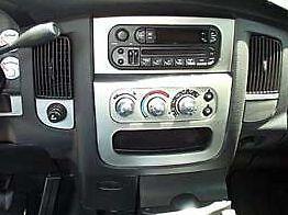 Dodge ram 1500 2500 3500 interior silver aluminum dash - 2005 dodge ram 1500 interior parts ...