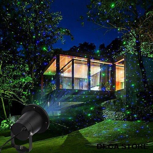 Proiettore Luci Natalizie Per Esterno Ebay.Faro Proiettore Laser Luci Di Natale Natalizie Per Esterno Con Sensore Notturno Ebay