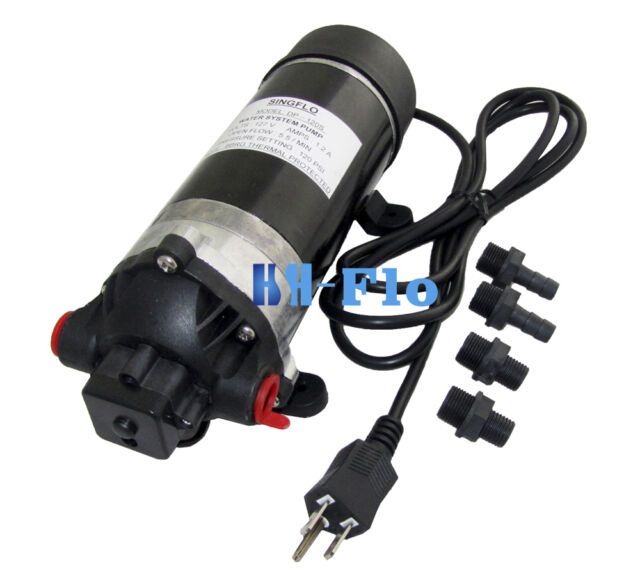 New 120v 160psi High Pressure Misting Pump Booster Diaphragm Water Pump Sprayer For Sale Online