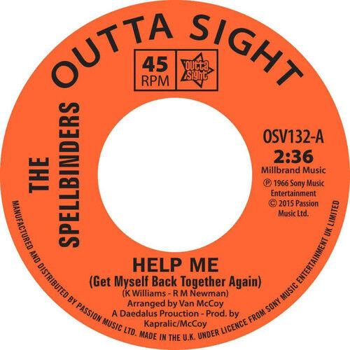 "The Spellbinders : Help Me/Chain Reaction Vinyl 7"" Single (2015) ***NEW***"