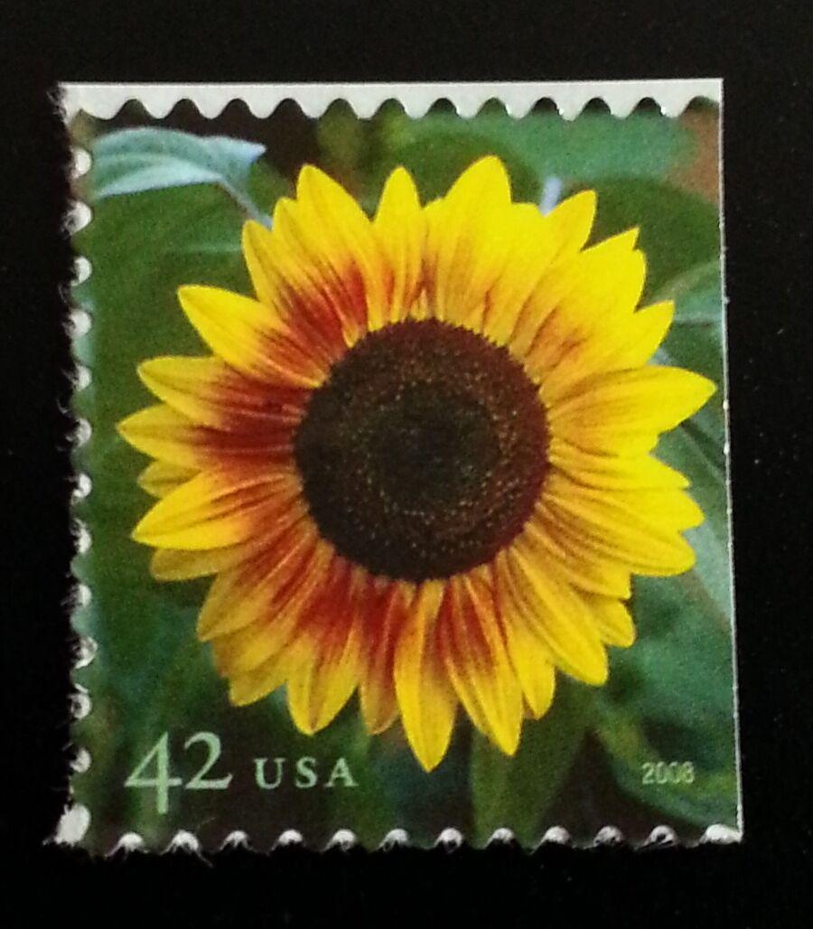2008 42c Sunflower Scott 4347 Mint F/VF NH