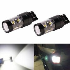 JDM ASTAR 2x 50W 7440 T20 CREE LED 6000K Super White Back Up Reverse Lights Bulb