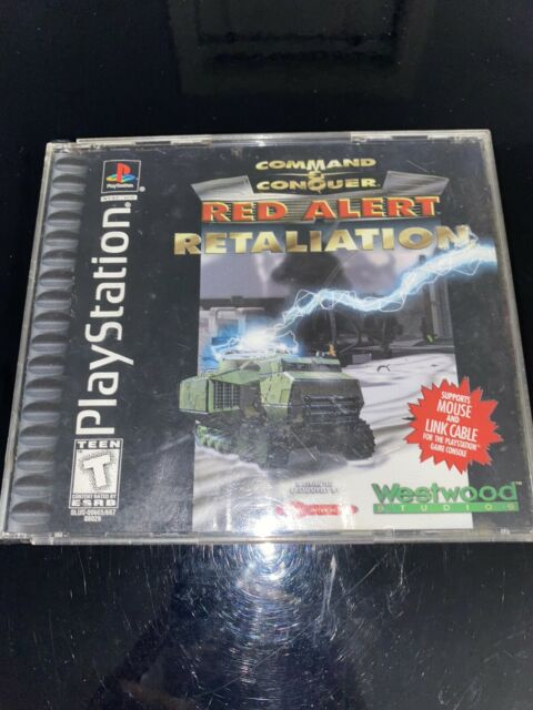Command & Conquer: Red Alert -- Retaliation (Sony PlayStation 1, 1998) TESTED!