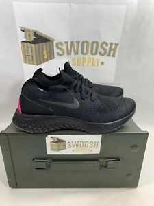 quality design f00aa 92a11 Image is loading Nike-Epic-React-Be-True-Black-Pink-Blast-