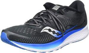 Saucony-Men-039-s-Ride-ISO-2-Running-Shoe-Black-Blue-10-5-D-M-US