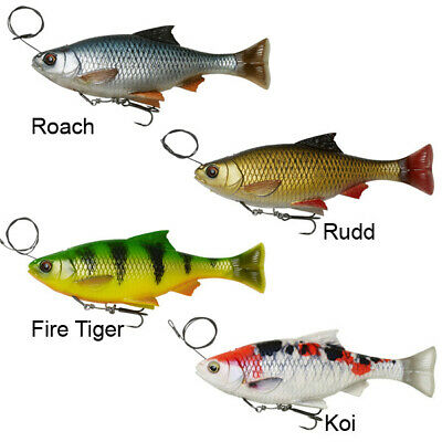 Savage Gear 3D Line Thru Pulse Tail Roach Fishing Lure 2 Pcs//Pack