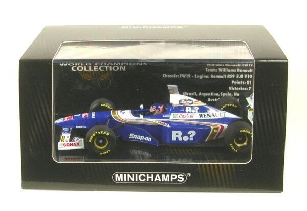 Williams renault fw19 nº 3 World Champion formula 1 1997 (jacques villeneuve)