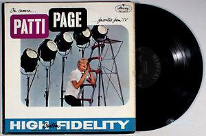 Patti-Page-On-Camera-Favorites-from-TV-1959-Vinyl-LP-Jack-Rael