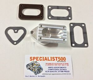 100% De Qualité Set Collecteur Carburateur Fixation Panda 30 Pour Fiat 500 F / L-r 126