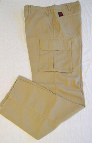 Style 69V13R DriFire 7oz Men/'s Cargo Work Pant in Tan Size 38