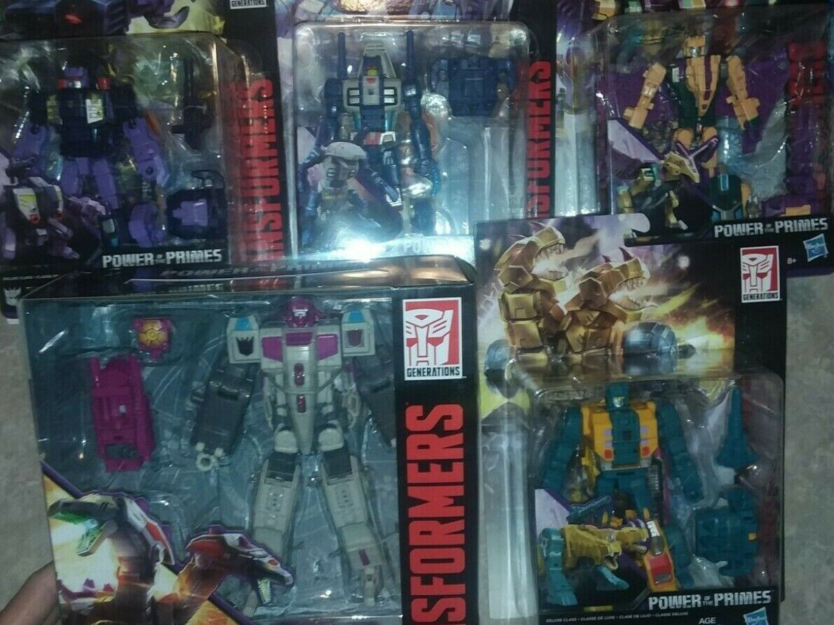 TRANSFORMERS sealed POTP TERRORCON HUN-GURRR SET OF 5 ABOMINUS POWER THE PRIMES