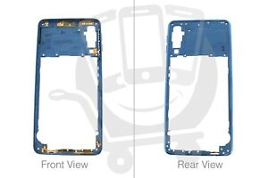 a5e7f828146 Official Samsung Galaxy A7 2018 SM-A750 Blue Middle Cover / Chassis ...