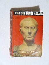 Vie des douze Césars, Suétone , 1961