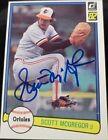 1982 Donruss Scott Mcgregor #331 Baseball Card