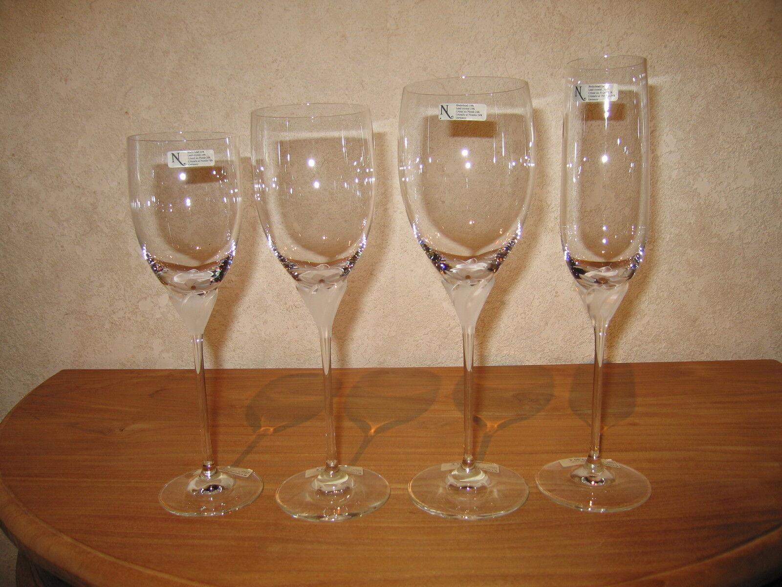 NACHTMANN NEW SAGA Set 4 Verres Glasses