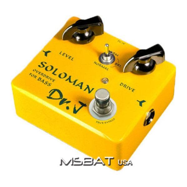 Dr.j D-52 Soloman Bass Guitarra Overdrive Pedal Pedal Pedal De Efecto  sin mínimo