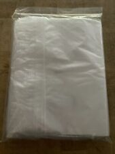 100 13x18 Clear Plastic Zipper Poly Locking Reclosable Bags 2 Mil