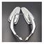 Chrom-Rearview-Mirror-Harley-sportster-softail-dyna-electra-glide-XL-CVO-fat-bob thumbnail 2