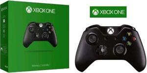 Microsoft-XBOX-ONE-amp-S-Video-Game-Wireless-Controller-BLACK-Brand-New-CA-Stock