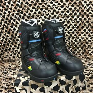 1b237f9632 Image is loading New-Vans-Encore-Black-Rainbow-Snowboard-Boots-Women-