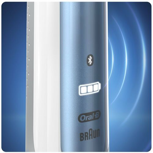 Oral-B Smart 6 6000N CrossAction Electric Rechargeable Toothbrush Blue White