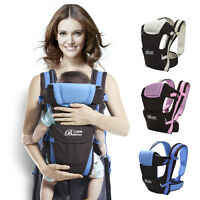 New Adjustable Comfort Baby Carrier Newborn Infant Sling Rider Backpack Wrap