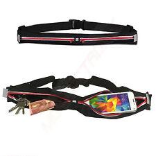 1A Joggingtasche Laufgürtel Sport Fitness Tasche für Acer Liquid Z500 Plus ROT