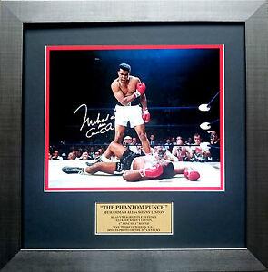 image is loading muhammad ali v sonny liston 039 phantom punch - Muhammad Ali Framed Pictures
